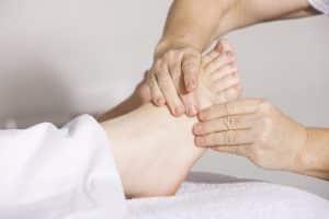 עור יבש ברגליים, יובש ברגליים